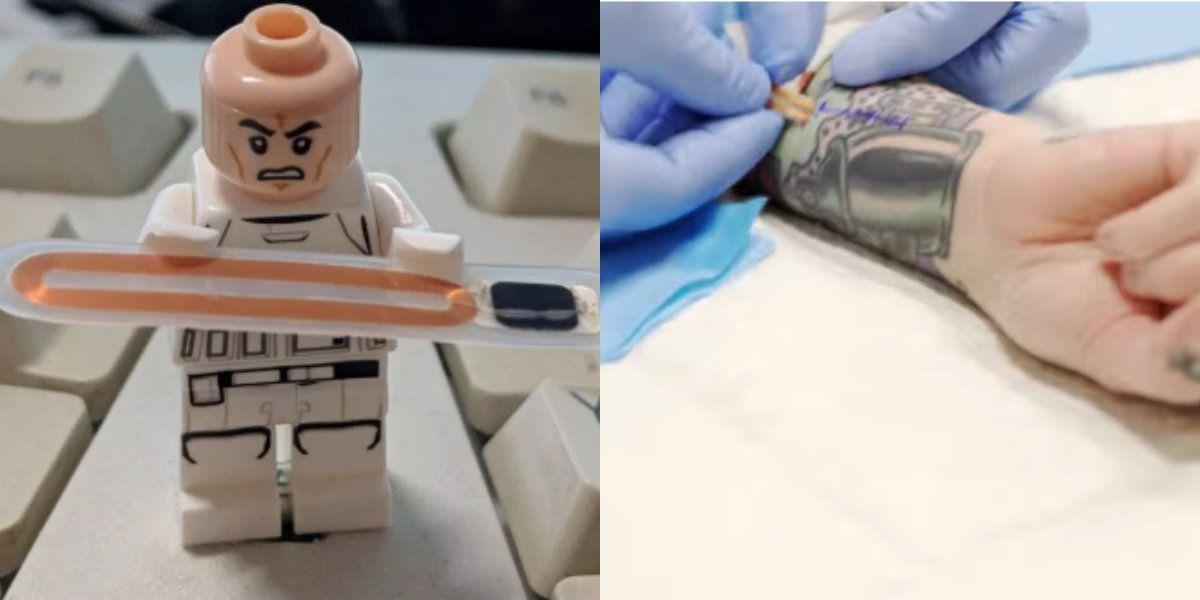 La ingeniera estadounidense se implantó el chip de la tarjeta-llave en su brazo (Foto: Especial)