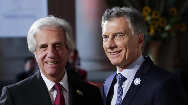 El presidente del Uruguay, Tabaré Vázquez, rechazaba una crítica directa hacia el régimen de Nicolás Maduro, como pretendía su colega argentino Mauricio Macri