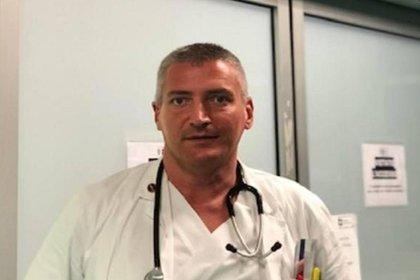 Carlo Mosca era jefe de Urgencias del hospital de Montichiari