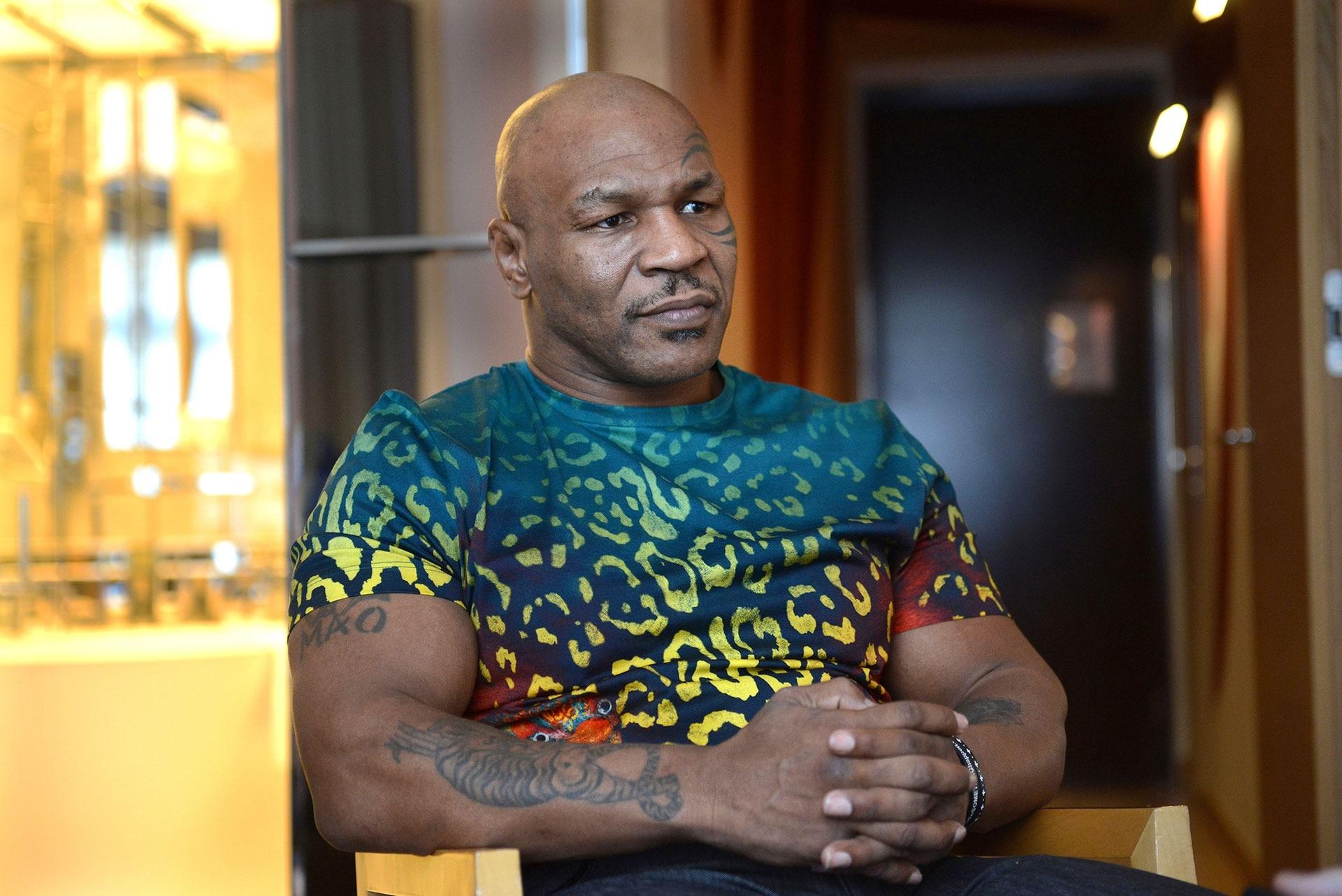 Mike Tyson descartó que su rival sea Evander Holyfield en su regreso al boxeo  - Infobae