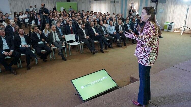 Vidal reunió a todo su gabinete para analizar el resultado de las PASO