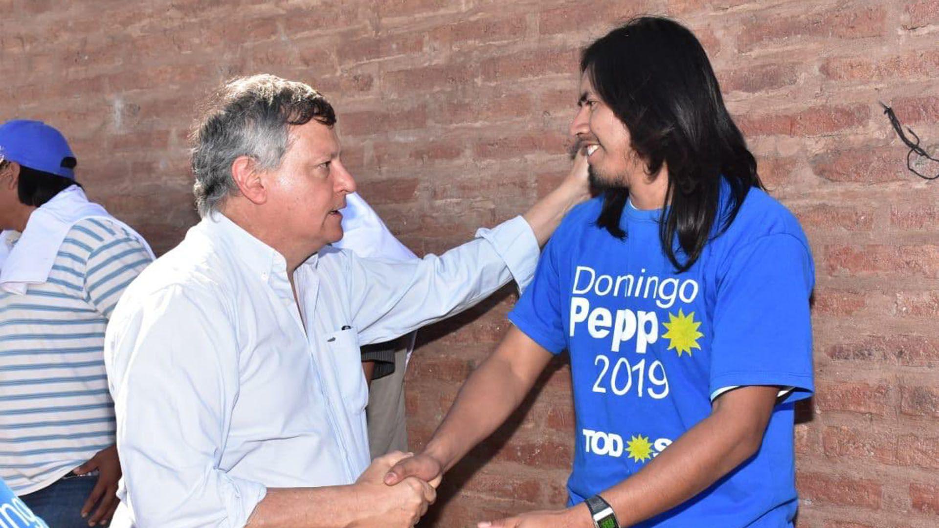 El ex gobernador de Chaco y actual embajador argentino en Paraguay, Domingo Peppo, es parte de la lista (@domingopeppo)