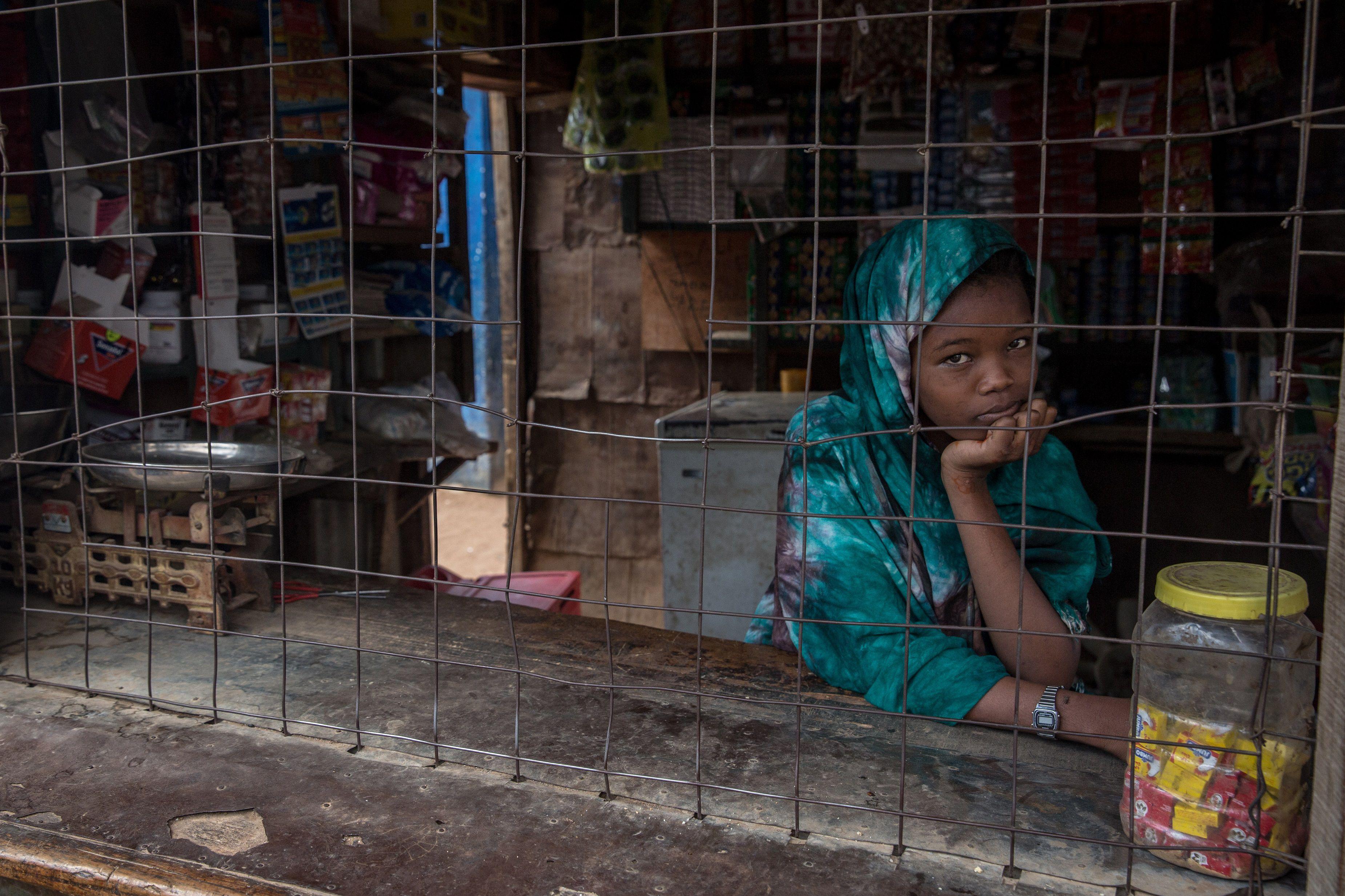 11-06-2021 Joven refugiada somalí en los campamentos de Dadaab (Kenia) POLITICA AFRICA AFRICA KENIA SOMALIA INTERNACIONAL CONTACTO