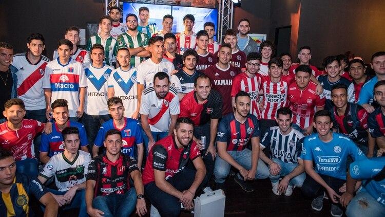 Los gamers que forman parte de la eSuperliga (Manuel Cortina)