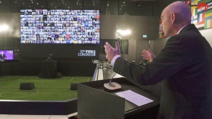 El congreso virtual de FIFA