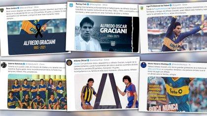 """""""Todavía no lo puedo creer"""": los mensajes de Batistuta, Latorre y otros ex futbolistas tras la muerte de Graciani"""