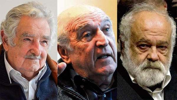 Mujica, Rosencof und Huidobro.