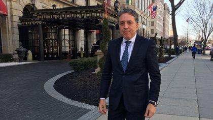 Nicolas Dujovne en EEUU, hace dos meses
