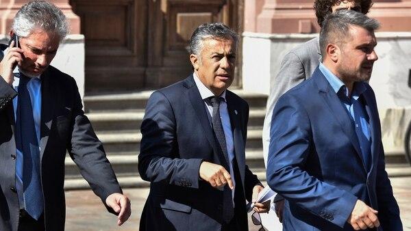 El gobernador de Mendoza y titular de la UCR, Alfredo Cornejo