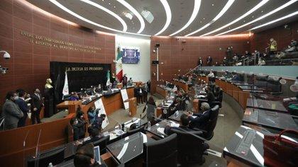 A pesar de haber aprobado el dictamen, las comisiones unidas realizarán un adéndum en el Pleno este jueves (Foto: Cortesía Senado)