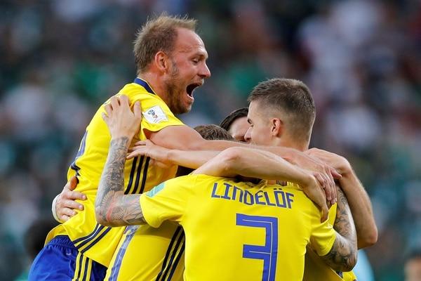 Suecia fue puntera de la zona donde quedó eliminada Alemania y deberá ratificar su rendimiento en San Petersburgo (Reuters)