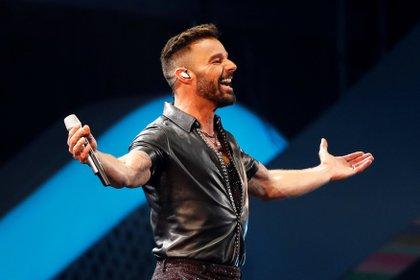 Imagen de archivo del cantante puertorriqueño Ricky Martin (EFE/ Alberto Valdés/ archivo)