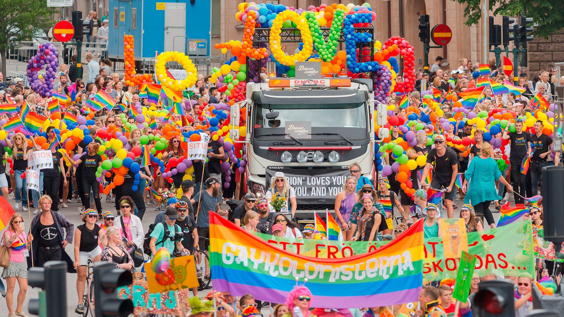 Suecia encabeza la lista de países más amigables con el turismo gay (Shutterstock)