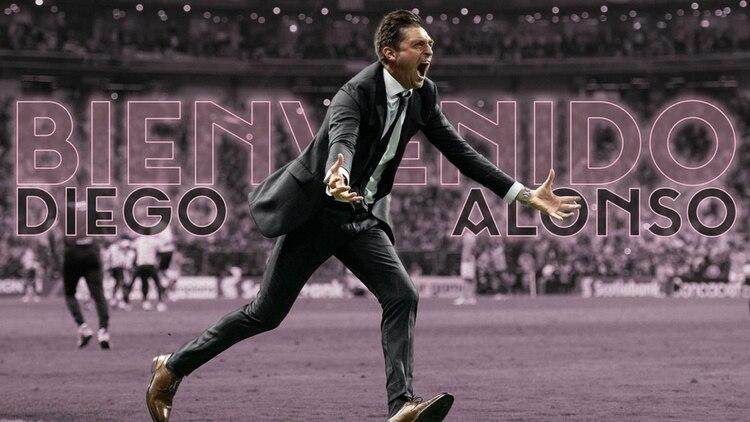 Diego Alonso será el entrenador del Inter de Miami