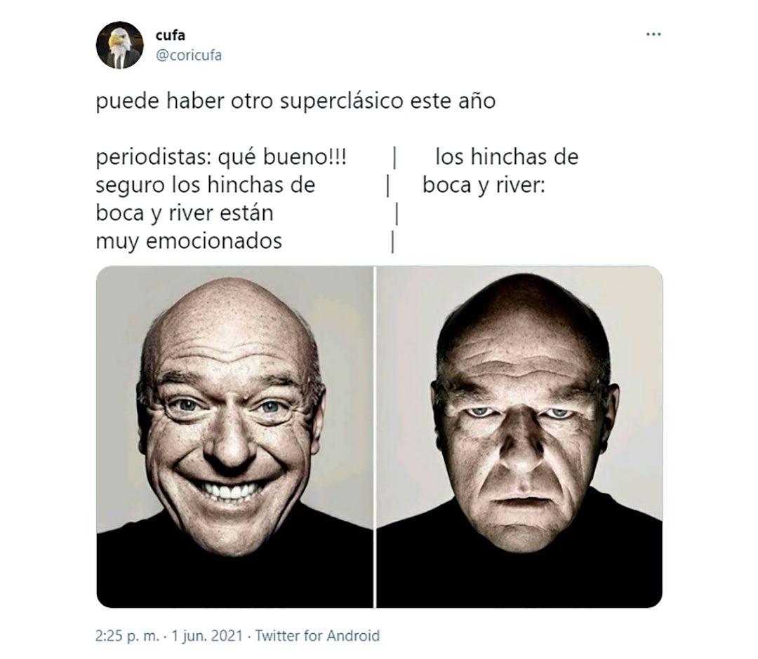 Memes sorteo copa libertadores Boca river superclasico
