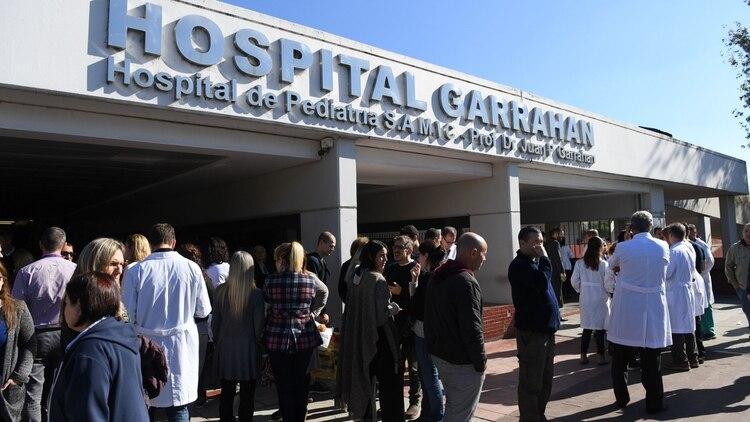 El Hospital Garrahan (Foto: Maximiliano Luna)