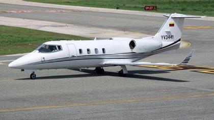 El avión YV-3441, interceptado por autoridades de EEUU cargado con armas y dinero en efectivo