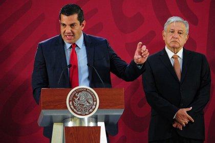 Ricardo Peralta es el subsecretario de Gobernación del equipo del presidente Andrés Manuel López Obrador (Foto: Cuartoscuro)