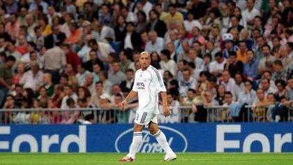 Roberto Carlos jugó 11 temporadas en el Real Madrud (Shutterstock)