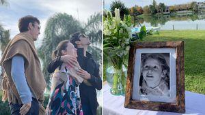 Con una emotiva ceremonia, Pampita Ardohain recordó a su hija Blanquita en el día que hubiera cumplido 15 años