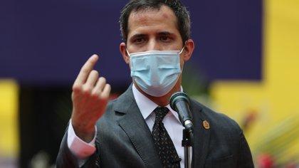 El líder opositor venezolano Juan Guaidó. EFE/ Miguel Gutiérrez/Archivo