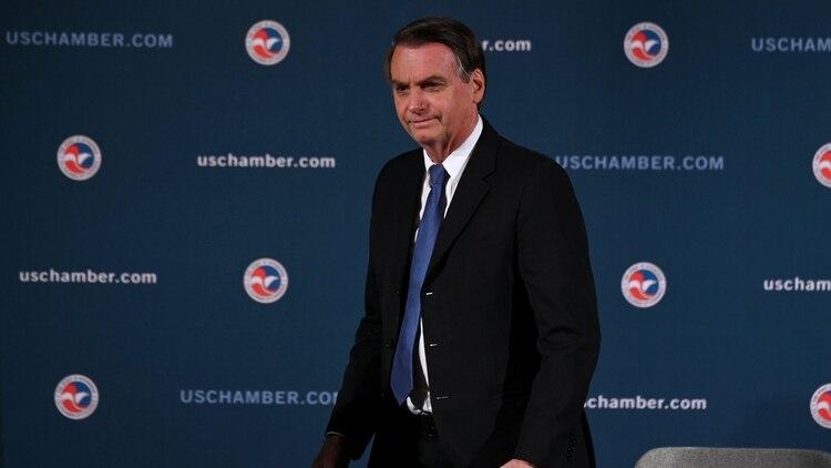 Brasil firmó un acuerdo espacial con EEUU, durante la visita de Bolsonaro (REUTERS/Erin Scott)