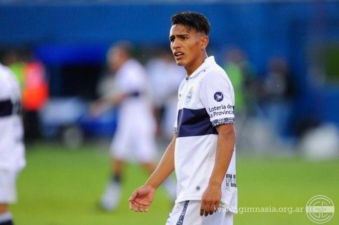 Eric Ramírez, jugador de Gimnasia La Plata