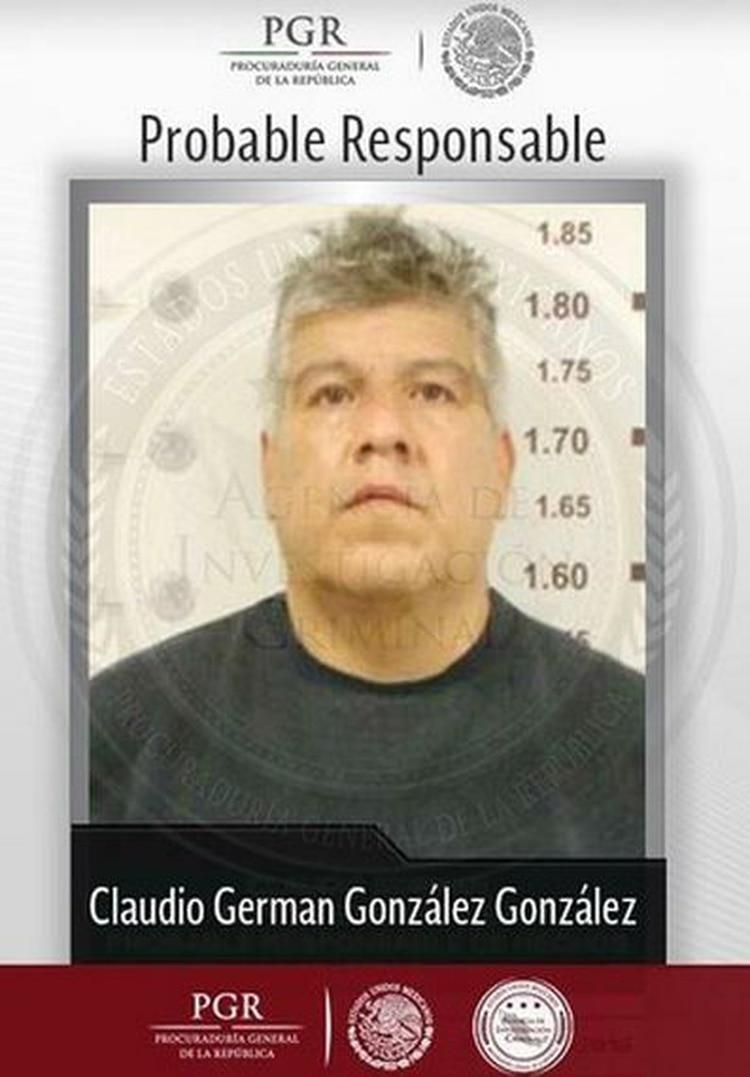 "Claudio González González, líder de ""Los Claudios"" (Foto: Internet)"