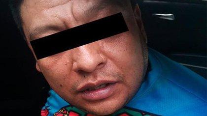 """La SSC de la Ciudad de México detuvo a Héctor Rodolfo N, presunto líder del grupo delictivo """"Los Rodolfos"""" (Foto: Twitter@SSC_CDMX)"""
