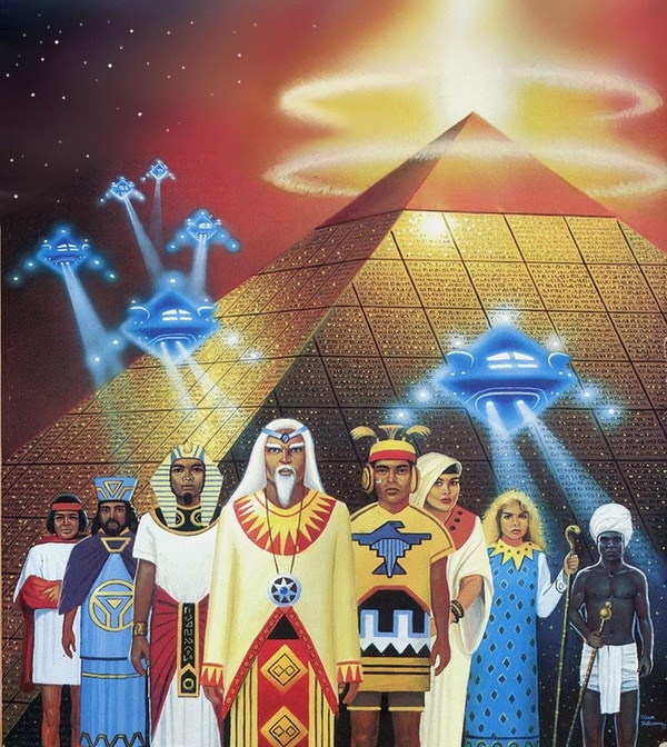 La teoría de los alienígenas ancestrales asegura que el desarrollo de la civilización estuvo mediada por seres de otros planetas