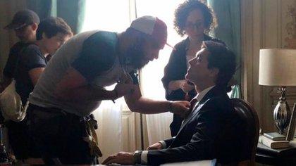 En la serie, Gabriel Corrado interpreta al jefe de Gobierno porteño