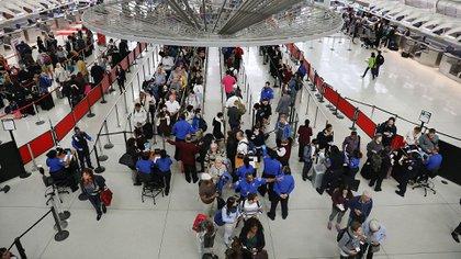 El Aeropuerto Internacional John F. Kennedy en Nueva York (Photo by Spencer Platt/Getty Images)