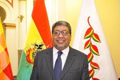 Jorge Fernando Oropeza mministro de minería de Bolivia