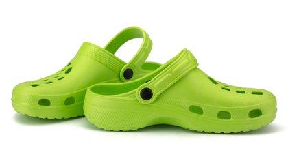 Según los especialistas, este calzado es de uso hogareño, no es para uso de más de 8 a 10 horas al día  (Shutterstock)