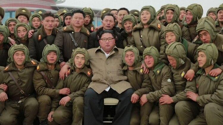 Kim Jong-un se ha mostrado en los últimos días supervisando ejercicios militares y con declaraciones de agresiva retórica