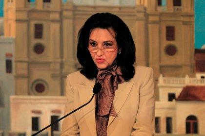 La ministra de relaciones exteriores de Colombia, Claudia Blum. EFE/ RICARDO MALDONADO ROZO/Archivo