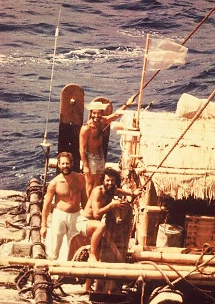Los navegantes atravesaron el Océano Atlántico en 52 días (Gentileza Alfredo Barragán)