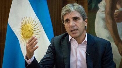Luis Caputo puso en marcha sus propuestas en busca de estabilizar los mercados (Martín Rosenzveig)