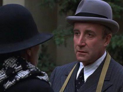 El actor, en la película