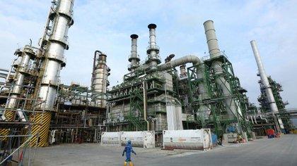 La Refineria de Esmeraldas está en el centro del escándalo de corrupción de Petroecuador
