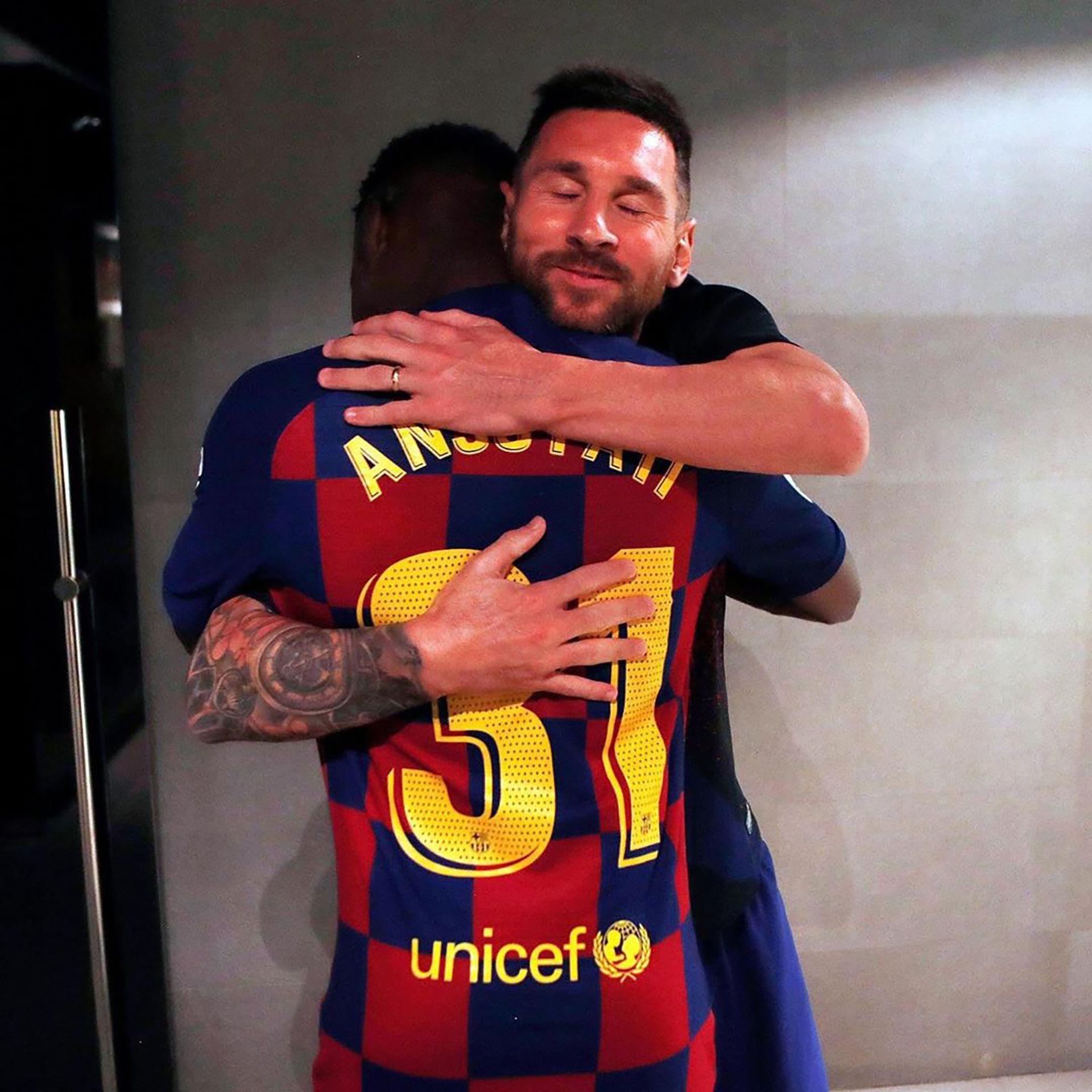 """La """"bendición"""" que compartió Lionel Messi (@leomessi)"""