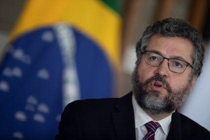 El saliente canciller de Brasil, Ernesto Araujo (EFE)