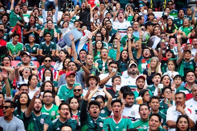 Aficionados a la selección mexicana (Foto: Cuartoscuro)