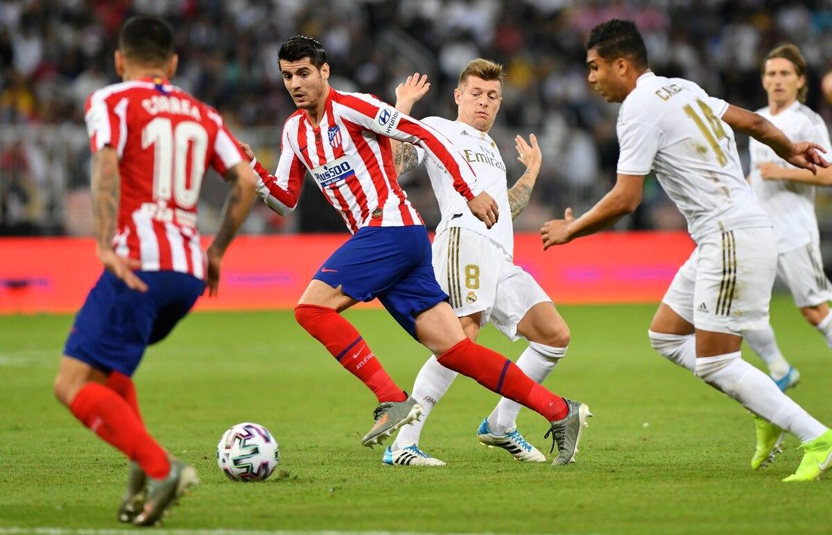 Real Madrid busca consolidar su liderazgo en el derby ante Atlético - Infobae