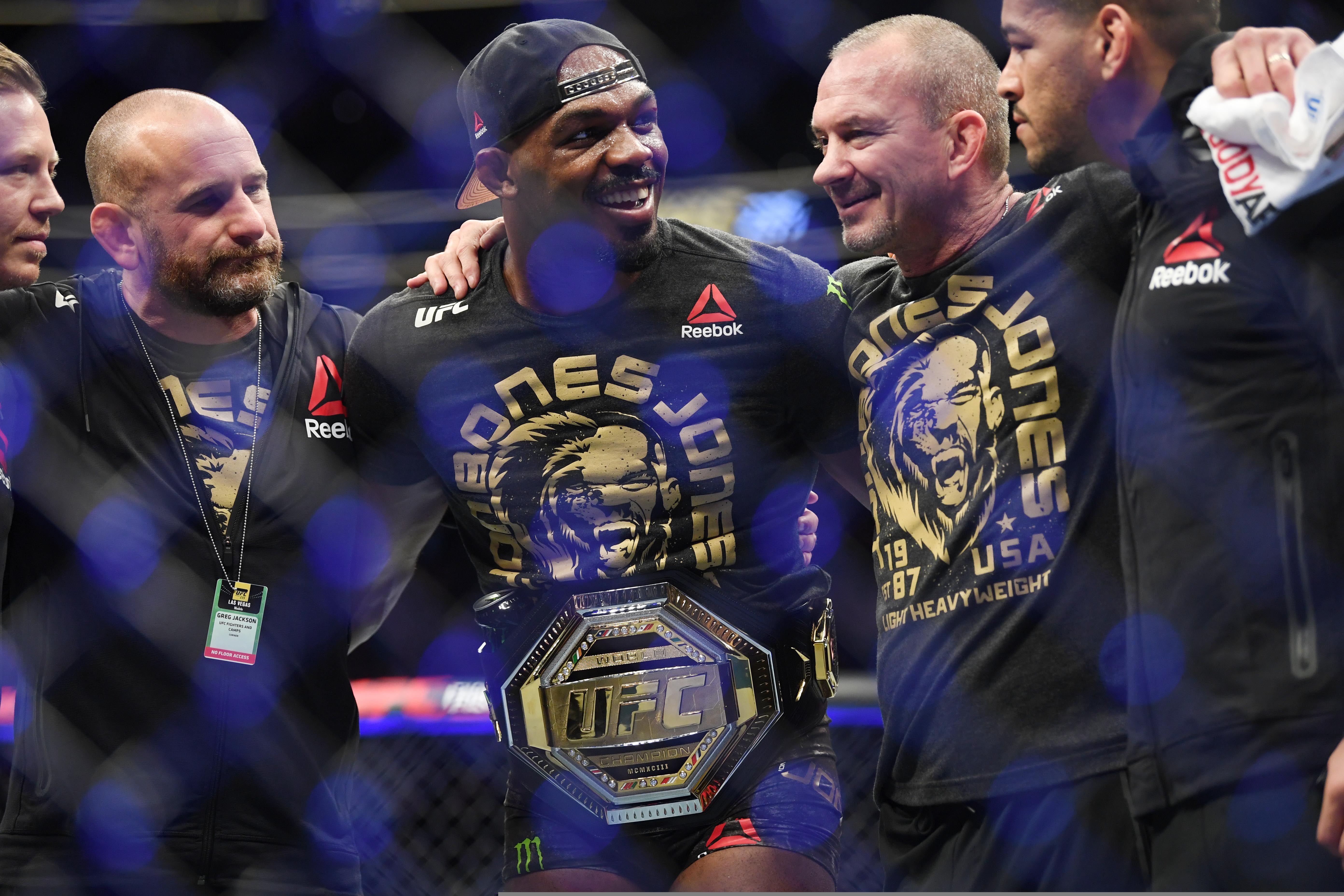 Jones es considerado el mejor peleador libra por libra de la actualidad