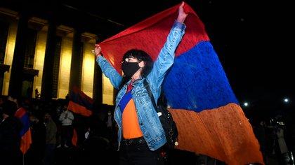 La comunidad armenia de Argentina marchó para pedir el reconocimiento internacional de la República de Artsaj