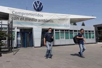 Puebla compartió el podio con los alemanes de Braunschweig en el segundo puesto, lugar de nacimiento de la marca, así como la planta de Sao Carlos, en Brasil. (Foto: REUTERS/Imelda Medina)