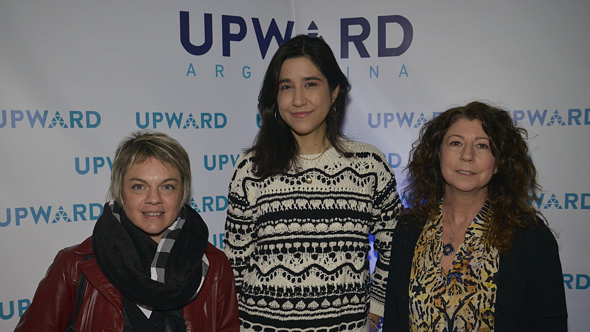 Carolina Garófalo (Consultora Fundación Global) Laura Alvarez Modernel (Senior Programs Amazon) y María José Sucarrat (Directora de Red Di Tella)
