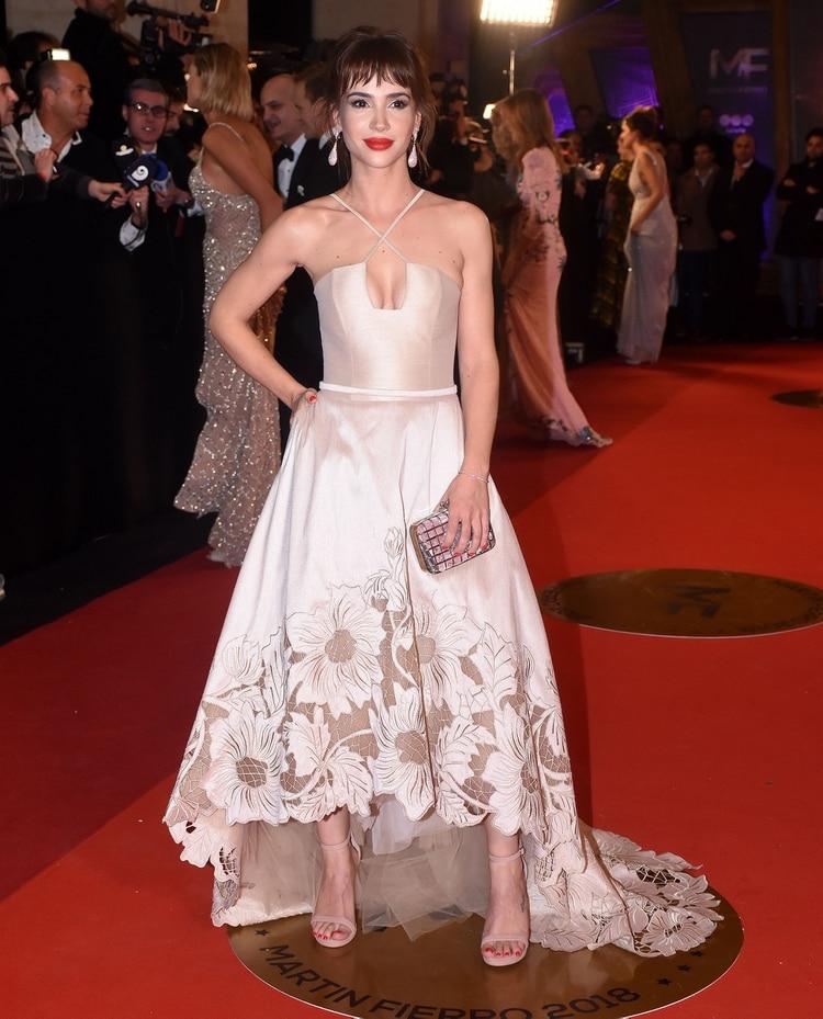Celeste Cid, nominada por mejor alfombra roja (Nicolás Stulberg)