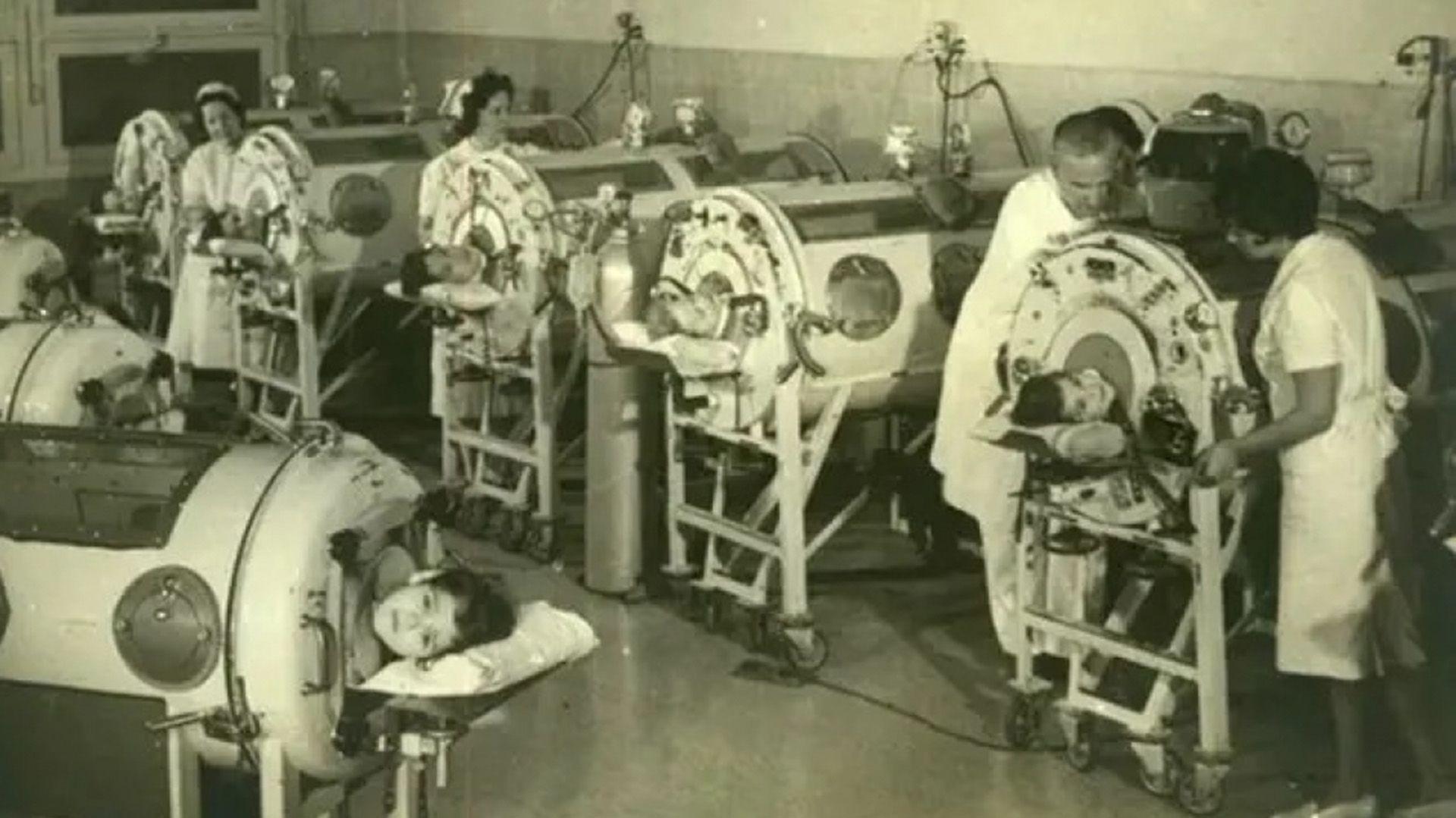 Epidemia Poliomielitis en Argentina 1956